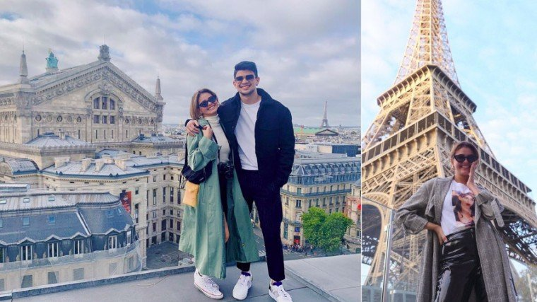 Kahit wala pang official na inaamin sina Janine at Rayver regarding their romantic alliance, happy daw si Janine that she got to spend her 30th birthday with Rayver at sa Paris, France pa.