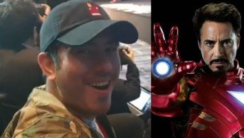 "Gerald Anderson fanboys over ""Ironman"" Robert Downey Jr."