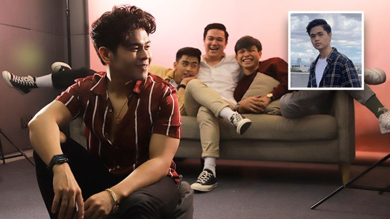 """The Juans is truly living for their calling as musicians, and they have proven it with the success of their songs such as """"Hatid"""" and the iconic """"Hindi Tayo Pwede"""" which is now an OST for the Viva Films offering of the same name! Know the story behind this popular OPM pop band by scrolling down below! (Note: Japs Mendoza was not able to attend the shoot as he had to go to school.)"""