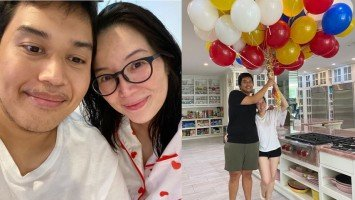 Kris Aquino and sons fly back to Manila just in time for her panganay Josh's 25th birthday