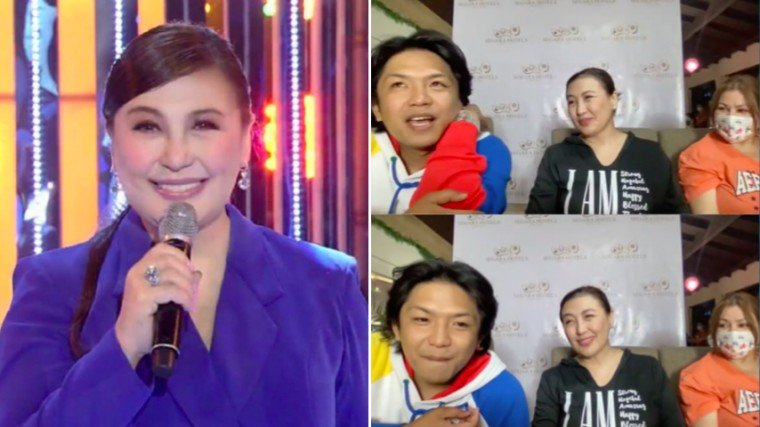 Photos reallysharoncuneta  Photograbs from Revirginized Zoom conference