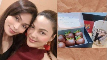 "Pika's Pick: KC Concepcion pens appreciation message for half sister Garie Concepcion for never failing to make her feel ""loved x appreciated."""