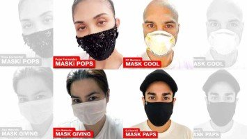 Pika's Pick: Pops Fernandez, Aiko Melendez, Sam YG, and KC Montero are just some of the celebrities that promote the #RockWithMasks challenge that encourages everyone to keep wearing masks.