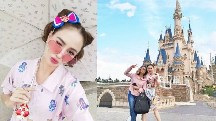 Arci travels with her mom Yolanda in Japan!