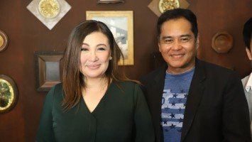 For Sharon, dream come true ang mag-horror film
