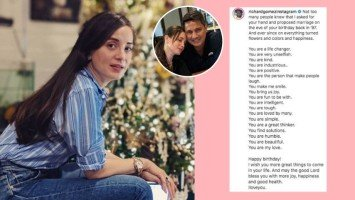 Pika's Pick: Richard Gomez pens one heart-melting birthday message for wife Lucy.