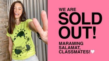 "Kim Chiu's ""Bawal Lumabas"" shirts are sold out!"