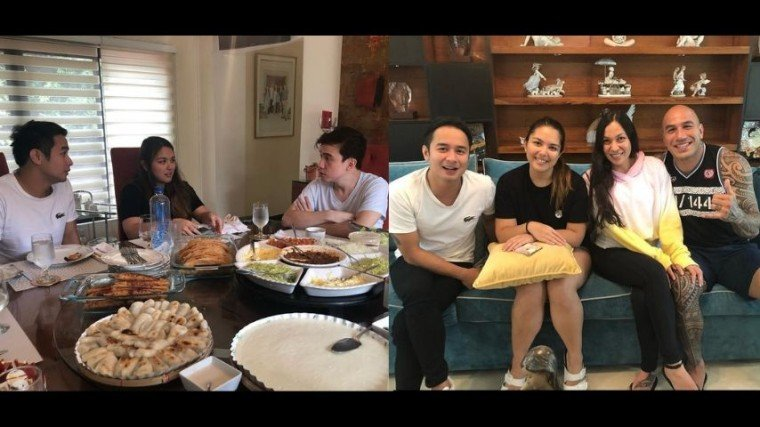 JM De Guzman, Brandon Vera and his wife Jessica Craven with the Atayde family plan to venture on a new business soon!