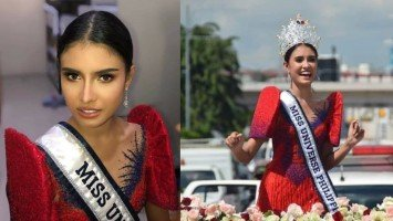 """LOOK: MUP 2020 Rabiya Mateo """"paints the town red"""" in her Iloilo homecoming"""