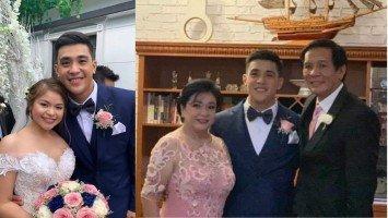 Joey Marquez and Alma Moreno's panganay, Yeoj Marquez weds longtime sweetheart