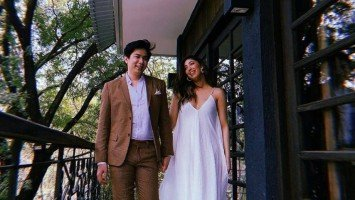 FIRST LOOK: Dani Barretto and Xavi Panlilio get married