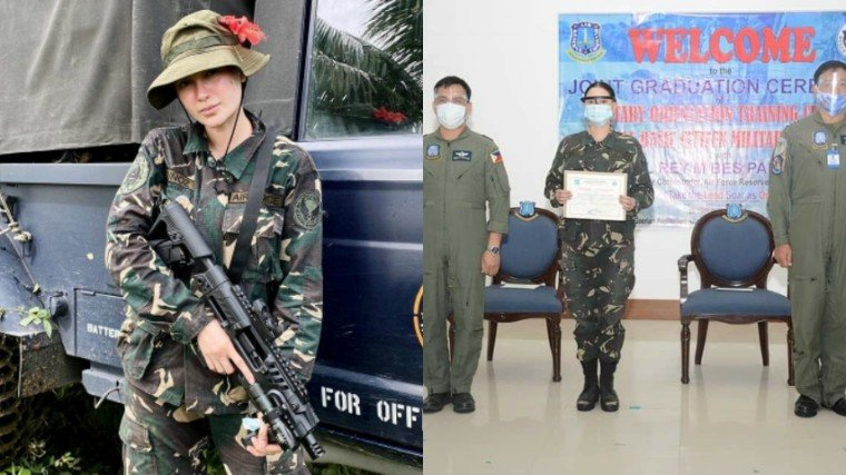 You may call her Sgt. Muñoz now. Arci Muñoz was recently promoted to the rank of sergeant at the Philippine Air Force Reserve Command!