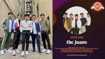 The Juans receive 5 nominations for 6th Wish Music Awards
