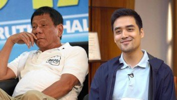 Netizens think that President Duterte's midnight speech throws shade on Vico Sotto