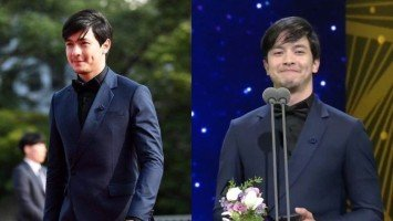 Alden Richards in attendance for Seoul International Drama Awards in South Korea; wins Asian Star Prize Award!