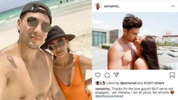 Sam Pinto revises post that led Netizens into thinking she's engaged