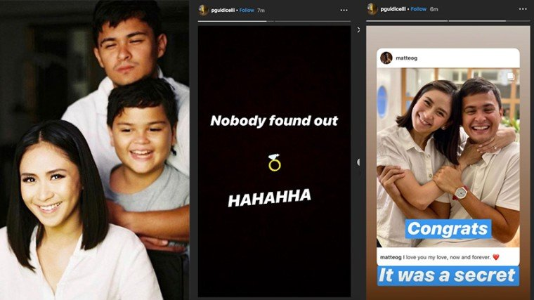 Matteo Guidicelli's brother CONFIRMS Matteo and Sarah's engagement! CONGRATULATIONS, MATT AND SARAH! Know more about it by scrolling down below!