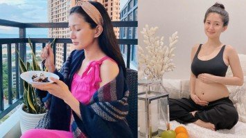 """Sheena Halili says conquering horrible first trimester of pregnancy feels like """"magic""""; reveals husband Jeron tops her list of """"pinaglilihian."""""""