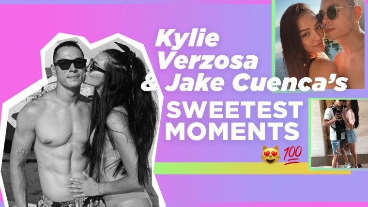 Kylie Verzosa and Jake Cuenca's sweetest moments