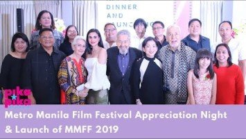 MMFF Committee hosts appreciation dinner; officially launches MMFF 2019