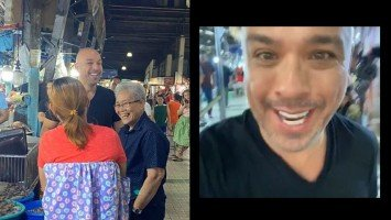 SPOTTED: Filipino-American stand-up comedian Jo Koy invades Farmers Market in Cubao!
