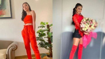 FASHION FRIDAY | Kim Chiu is ravishing in red!