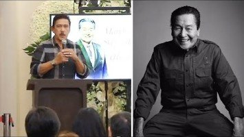 "Eddie Garcia Eulogy Series |  Senator Tito Sotto ""What is professionalism? Ang sagot ko, Eddie Garcia."""