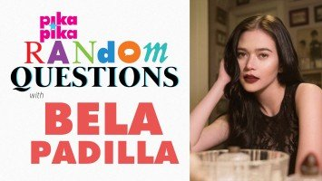 Bela Padilla answers Random Questions from Pikapika!