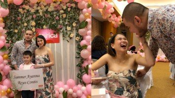 Paolo Contis & LJ Reyes reveal the name of their Baby Girl
