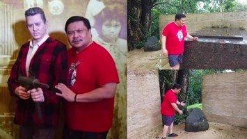Jinggoy Estrada, ipinasilip ang future libingan ng amang si Erap sa Tanay