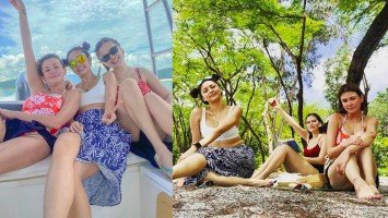 Pika's Pick: BFFs Angelica Panganiban, Bela Padilla, and Kim Chiu celebrate their friendship's anniversary by reuniting with one another and with nature