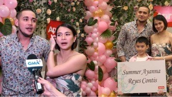 Highlights of Paolo Contis & LJ Reyes baby shower and name reveal party