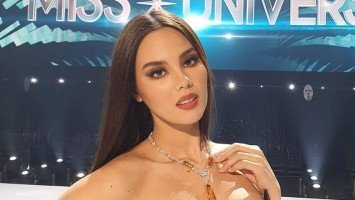 "Catriona Gray ends her Miss Universe reign with this beautiful message: ""Your dreams are valid. And on your path, you are never denied and only redirected."""