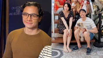 "JC Santos admits tying the knot with his ""high school crush,"" who is now 8-months pregnant!"