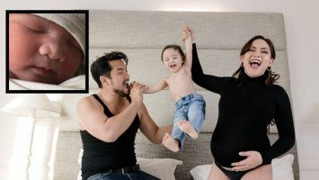 LOOK: Geoff Eigenmann and Maya Flores welcome second child!