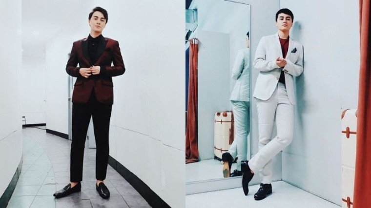 Check out the fashionable Edward Barber in his well-fitted suits by scrolling down below!