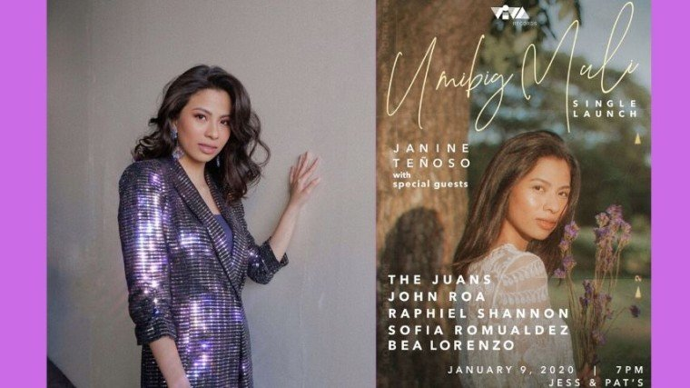 """Janine Tenoso is ready to make us cry once more with her voice in the form of her upcoming single """"Umibig Muli"""" which is set to release in January 10. Know more about it by scrolling down below!"""