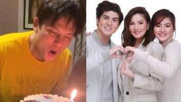 "Pika's Pick: Carmina Villarroel and twins Cassy and Mavy surprise Zoren Legaspi on his 48th birthday; thank him for being their ""rock and strength"""