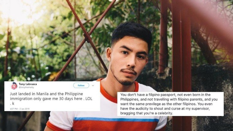 PHOTO: @tonylabrusca on Instagram / Screenshot from @sirkevinmartin on Twitter