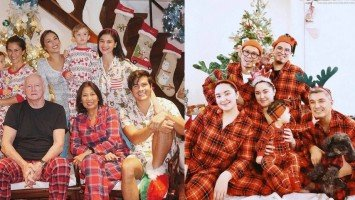 These celebrities spent the holidays in their cozy pajamas