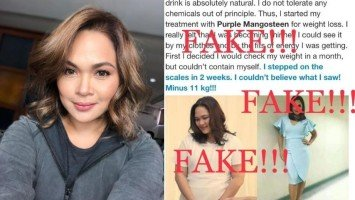 Judy Ann victimized by fake ads using her image on Facebook
