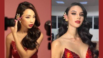 Maymay Entrata transforms into Ms. Universe 2018 Catriona Gray