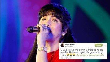 Regine Velasquez pokes fun at herself with a hilarious tweet