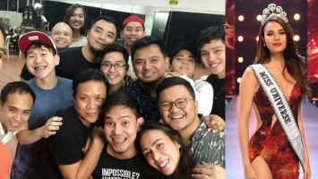 Meet Catriona's winning team at Miss Universe 2018