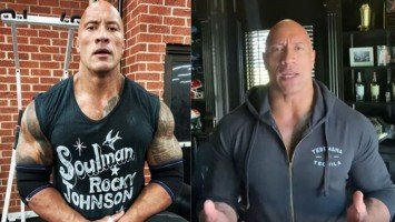 """Dwayne """"The Rock"""" Johnson reveals he and immediate family are recovering after testing positive for COVID-19; shares reflections on diagnosis"""