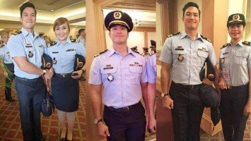 Salute to now-PCGA Lieutenant Commander Diether Ocampo!