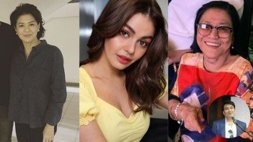 Sandy Andolong appeals to Lolit Solis to stop belittling Janine Gutierrez; says Janine's comment on Bong Revilla's comeback was not intended to come out too harsh