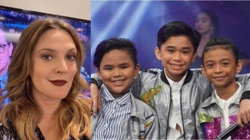 Look what Drew Barrymore had to say about our TNT boys!