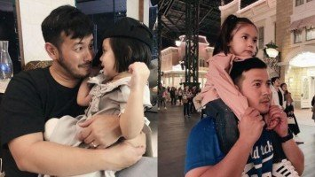 PIKACUTIE MONDAY | 7 times Feather Prats is daddy's little girl