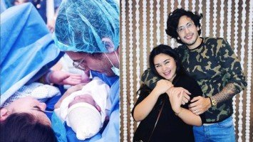 LOOK: Gwen Zamora gives birth to a baby boy!